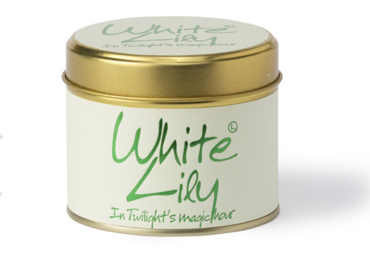 Lily Flame White Lily Candle