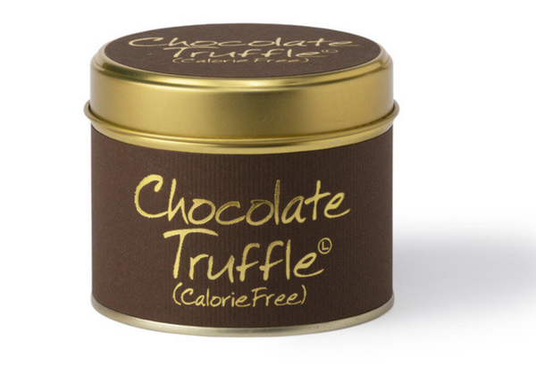 Lily Flame Chocolate Truffle Candle