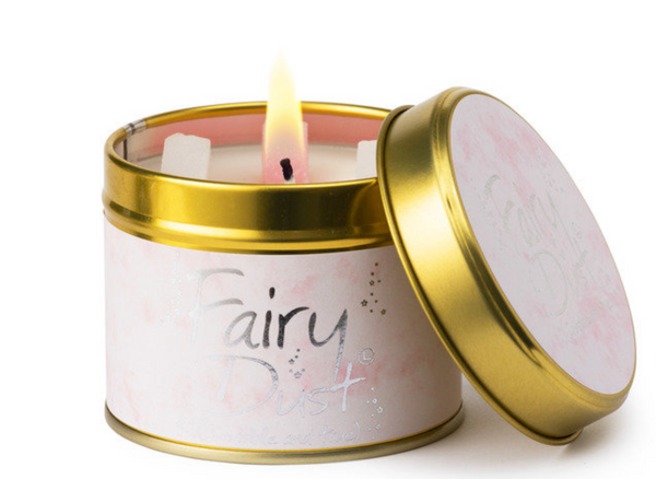 Lily Flame Fairy Dust Candle