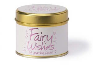 Lily Flame Fairy Wishes Candle