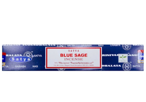Satya Nag Champa Incense Sticks 15g - Blue Sage