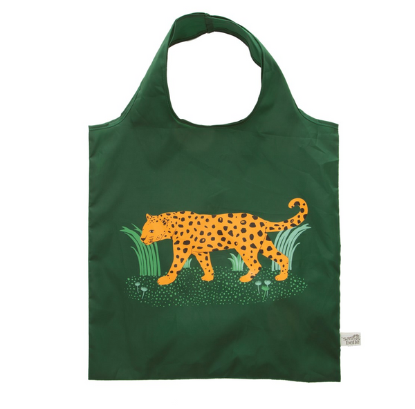 Foldable Leopard Shopping Bag