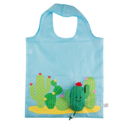 Foldable Cactus Shopping Bag