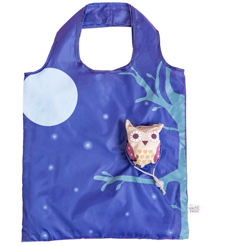 Foldable Owl Shopping Bag