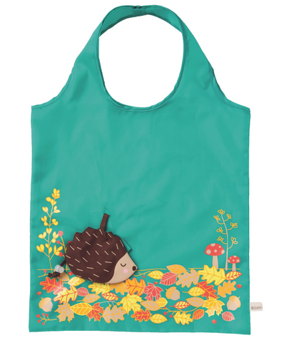 Foldable Hedgehog Shopping Bag