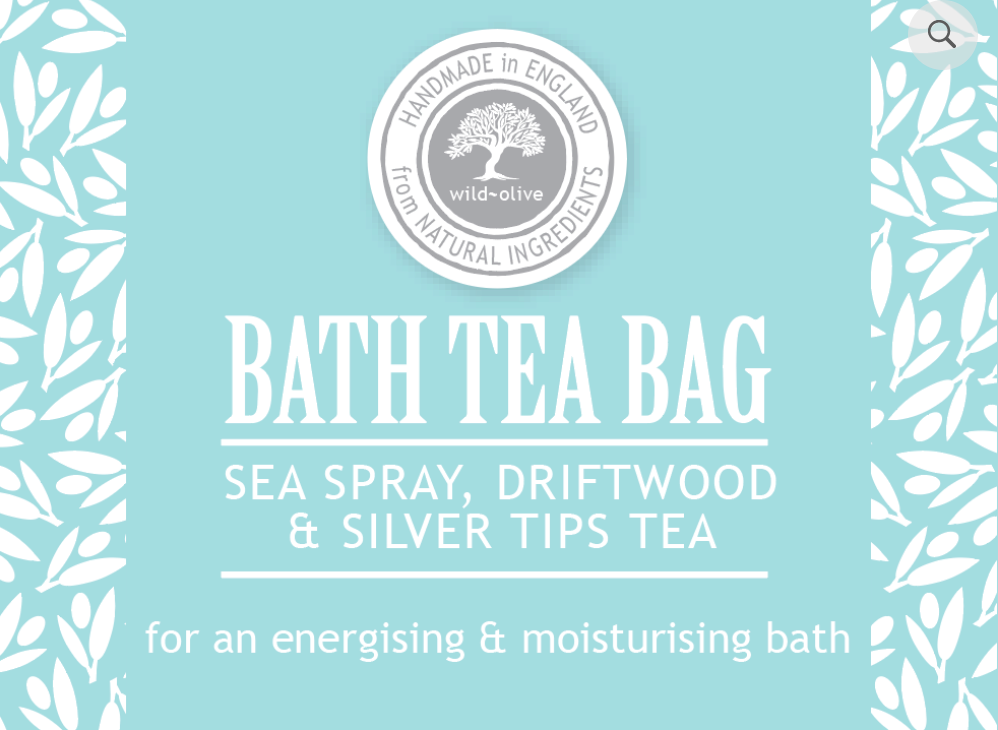 Bath Tea Bag - Sea Spray, Driftwood & SIlver Tips Tea