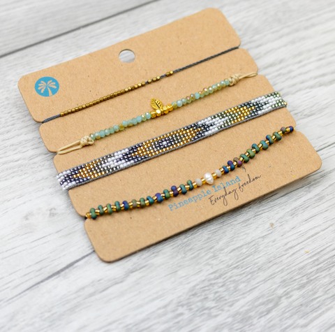 Pineapple Island Bracelet Set