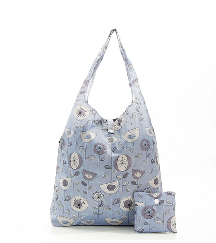 Eco Chic Recycled Foldable Shopping Bags - Various Designs