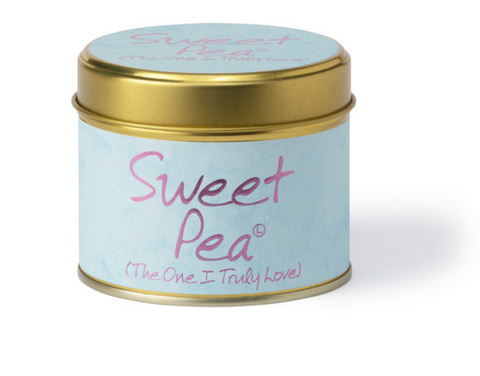 Lily Flame Sweet Pea Candle