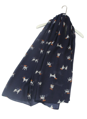 Jack Russell Dog Scarf