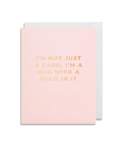 Greetings Card - Lagom Mini Card- I'm Not Just A Card....