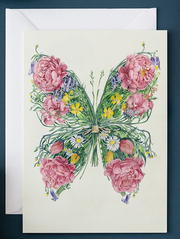 Daniel Mackie Butterfly Greetings Card