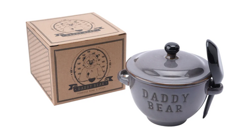 Daddy Bear Porridge Bowl & Spoon