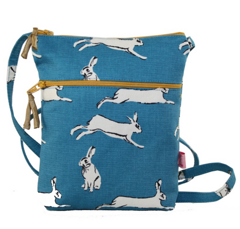 Lua Cross Body Zipped Purse - Hares
