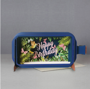 Message In A Bottle Greetings Card - Happy Birthday
