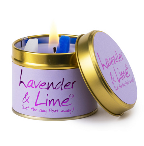 Lily Flame Lavender & Lime Candle