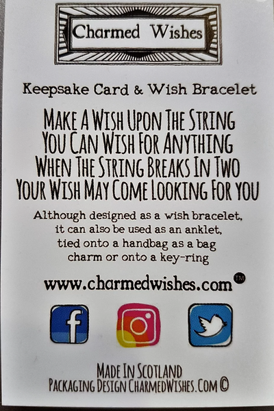 Wish String Bracelets - Assorted Designs