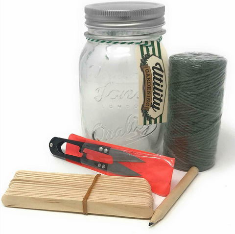 Temerity Jones Gardener's Mason Jar