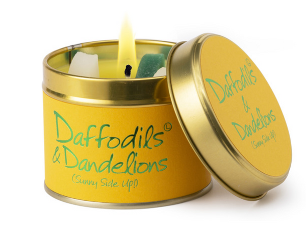 Lily Flame Daffodils & Dandelions Candle