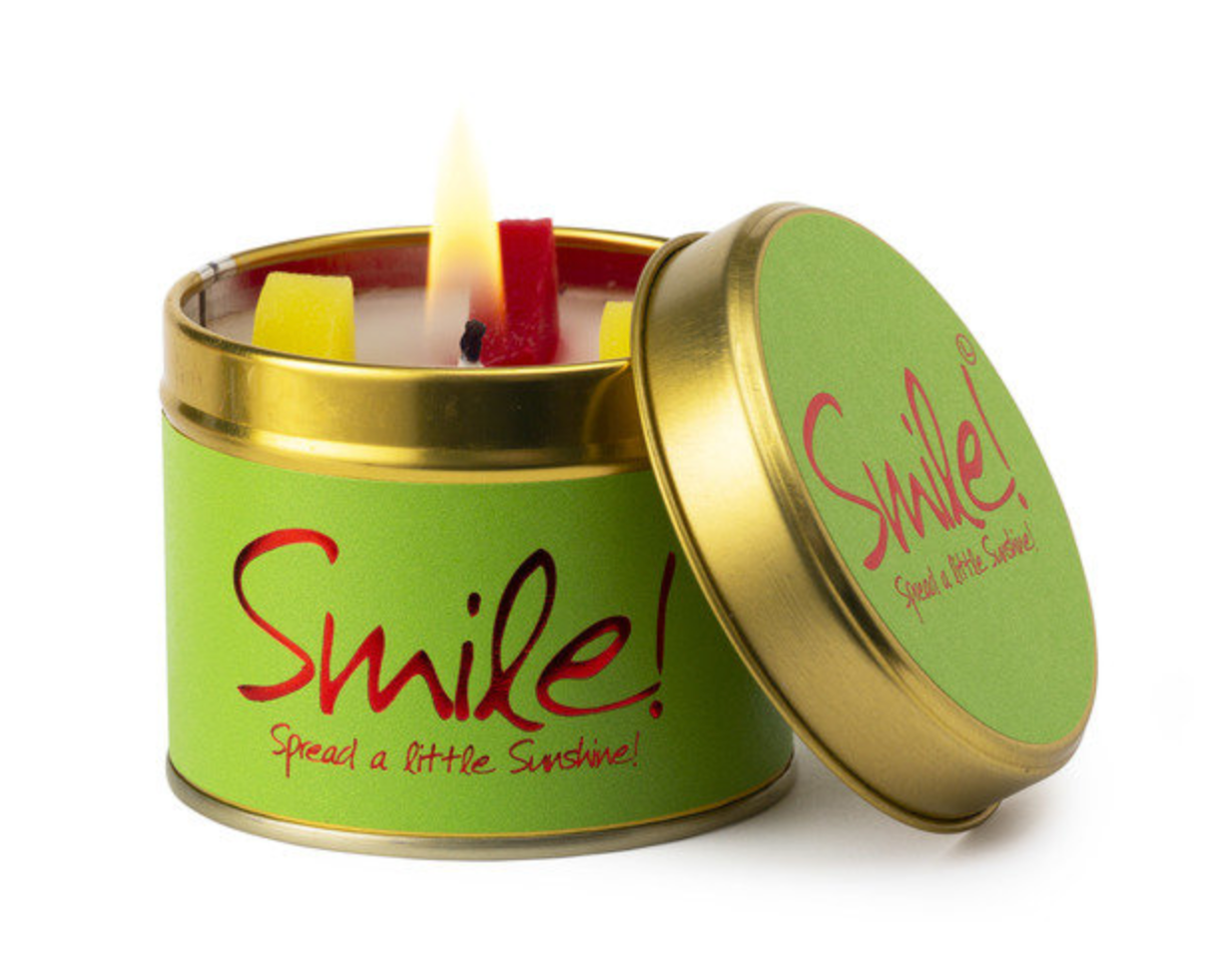 Lily Flame Smile Candle