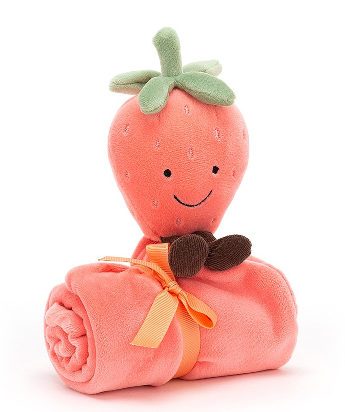 Jellycat Strawberry Baby Soother