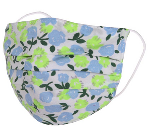 Child's Face Mask - Blue/Green