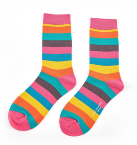 Miss Sparrow Bamboo Ladies Socks - Rainbow