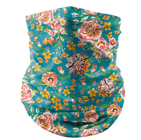 Reusable Face Bandana Face Mask - Rose Garden