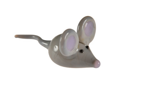 Glass Grey Mouse