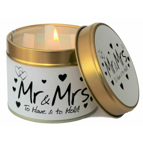 Lily Flame Mr & Mrs Candle