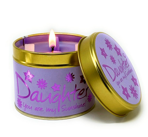 Lily Flame Daughter Candle