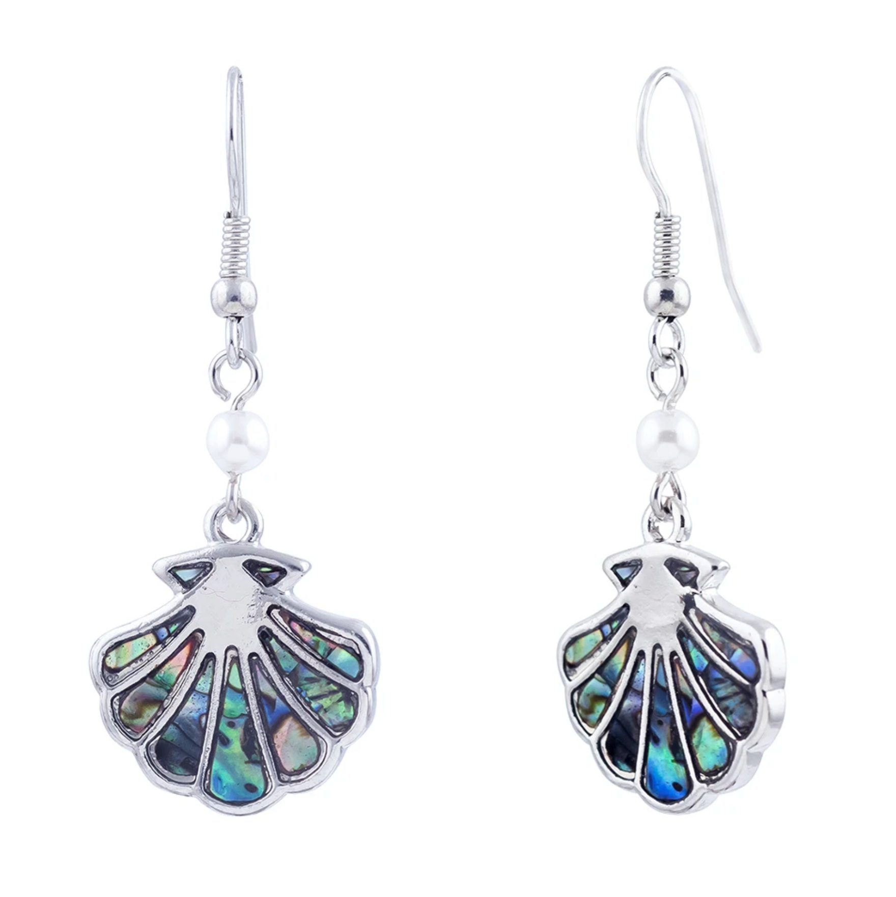 Byzantium Paua Sea Shell Earrings P243