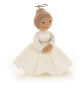 Christmas Angel Felt Tree Topper Decoration