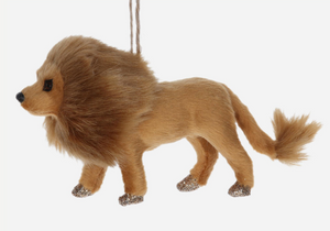 Gisela Graham Lion Hanging Decoration