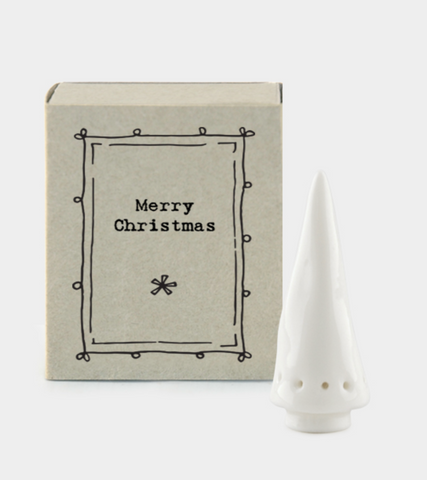 "East of India Matchbox  ""Merry Christmas"""