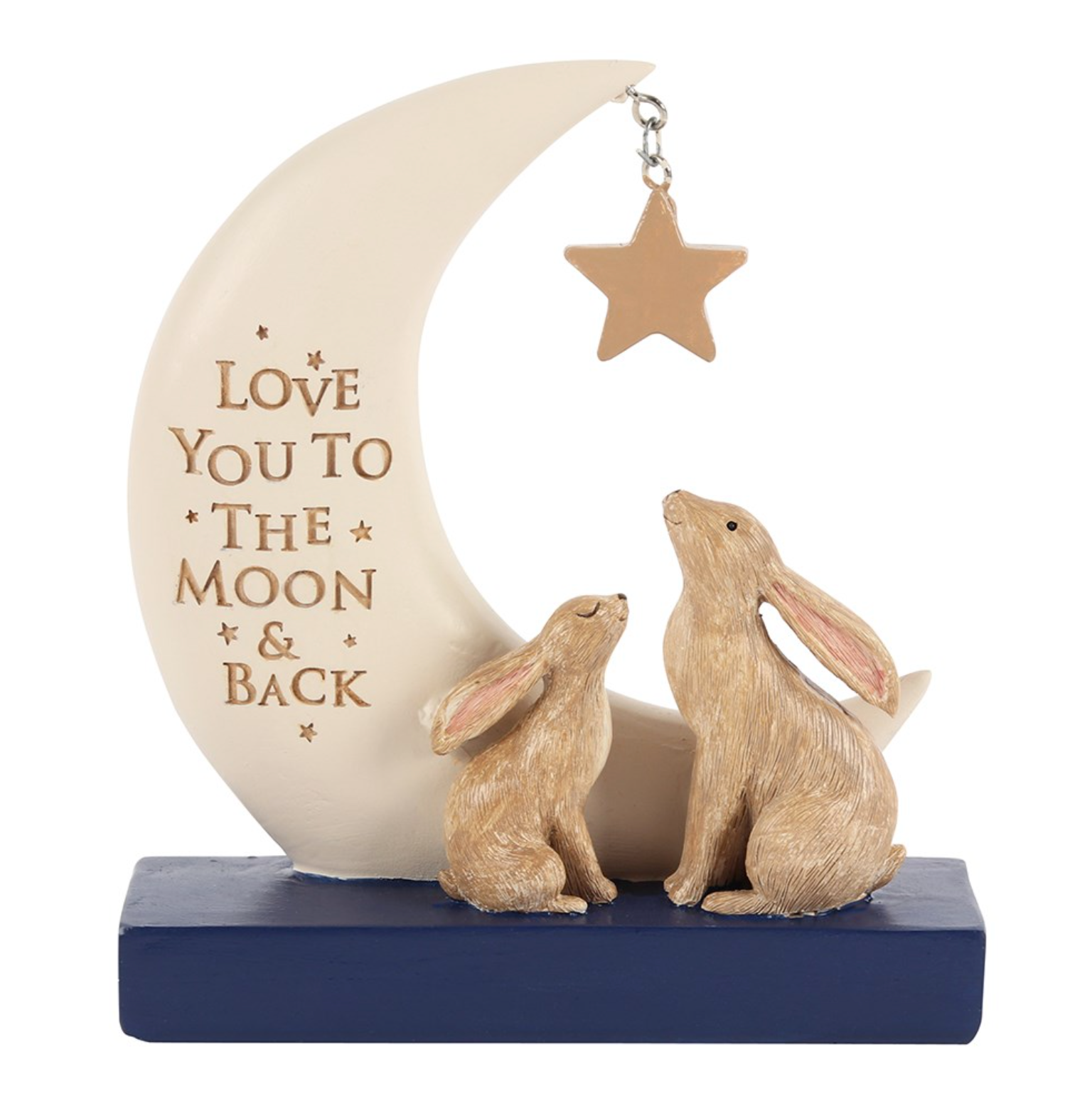 I Love You To The Moon and Back Decorative Sign