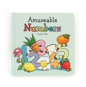 Jellycat Numbers Book