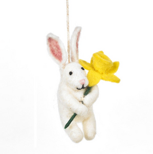 Felt Delilah Bunny Hanging Easter Decoration