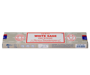 Satya Nag Champa Incense Sticks 15g - White Sage