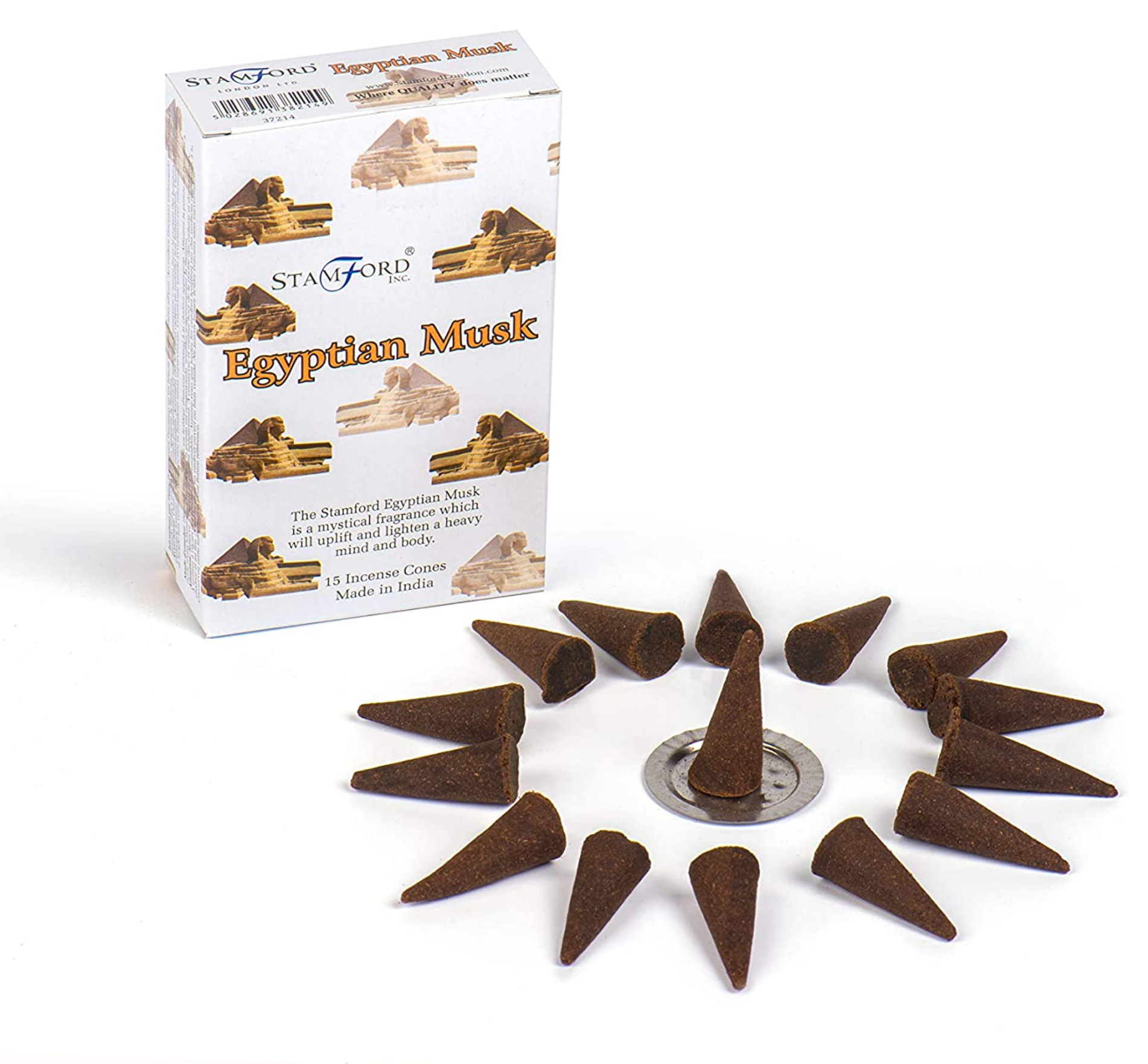 Incense Cones - Egyptian Musk