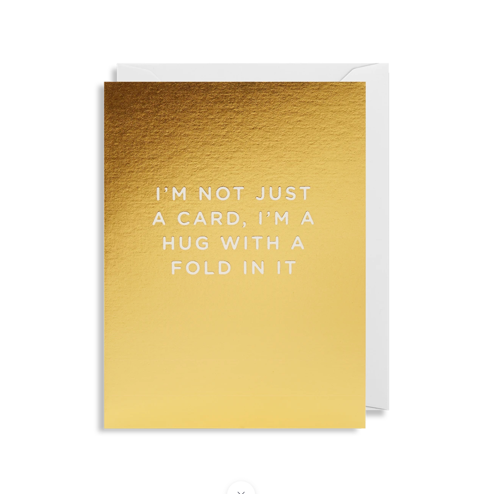 Greetings Card - Lagom Mini Card- I'm Not Just A Card I'm a Hug....