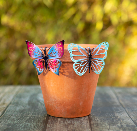 Butterfly Pot Hanger - Various colours available