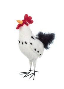 Ron The Rooster Felt Standing Easter Decoration
