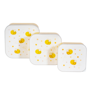 Sass & Belle Set of 3 Bee Lunch Boxes
