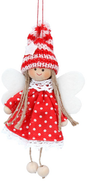 Fabric Fairy Scandi Decoration