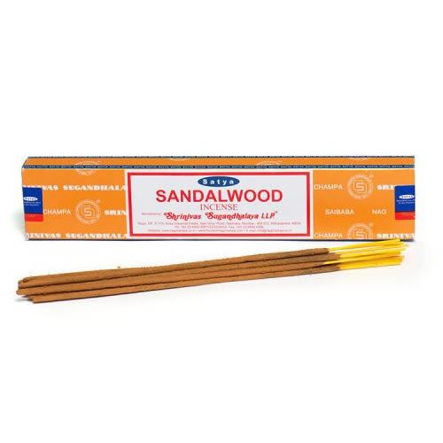 Satya Nag Champa Incense Sticks 15g - Sandalwood
