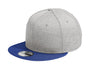 New Era - Shadow Heather Striped Flat Bil Snap Back