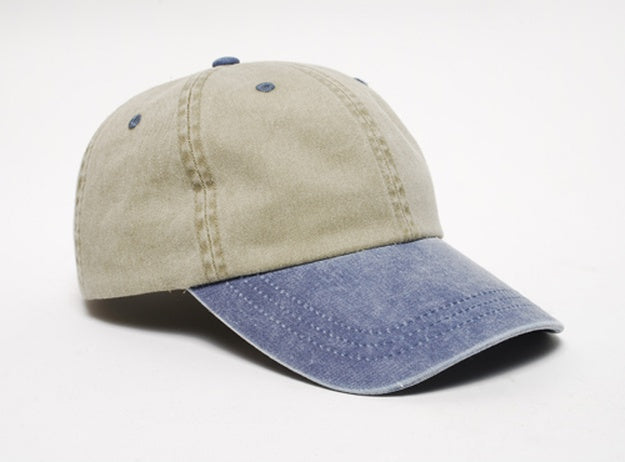Pacific Headwear - Washed Pigment Dyed Hook And Loop