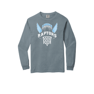Long Sleeve Comfort Color Auburn Raptors Tee