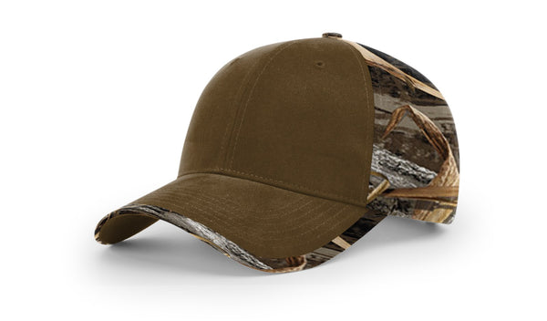 Richardson 844 DUCK CLOTH FRONT W/ CAMO BACK